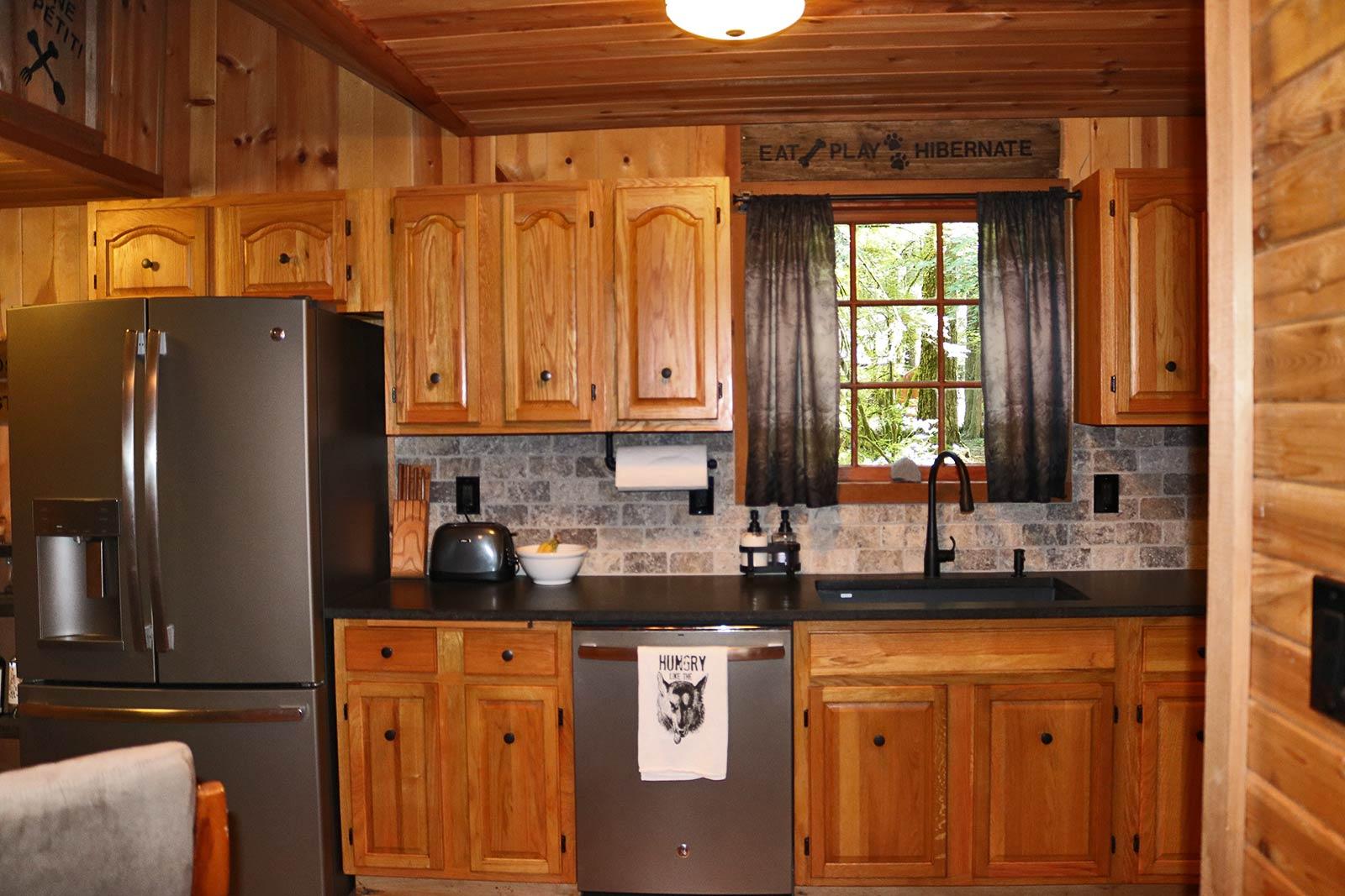 Cabin Kitchen Remodel Specktacular Home Remodeling